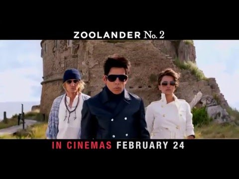 #Zoolander2 is in cinemas FEBRUARY 24!