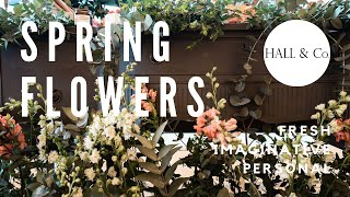 Spring Flowers | Hall & Co. Event Design