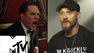 Legend Twins Fight Scene - Tom Hardy Talks Krays | MTV Movies