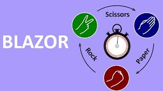 12 - Blazor: Rock, Paper, Scissors And Timers - Making A Game In Blazor!