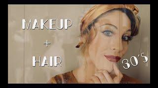 Authentic 1930s Makeup Tutorial