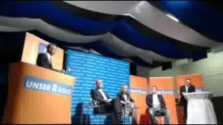 preview picture of video 'Bürgermeisterwahl 2012 in Regen: Kandidaten auf dem Podium'