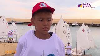 В Сочи стартовала детская регата Skypark sailing race