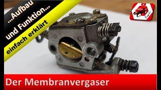 Der Membranvergaser - einfach erklärt   Vergaser einstellen - so bekommt es jeder hin!