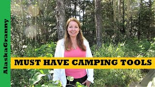 Must Have Camping Tools Every Camper Needs