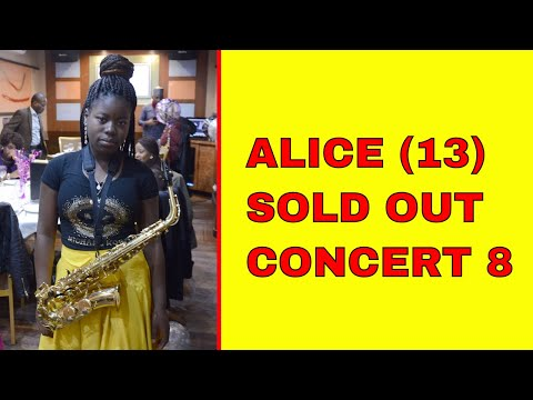 Nigerian Yoruba Gospel music by 11 yr old Saxophonist - Alice Joshua (Alifted)