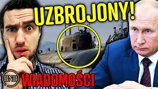 Rosja ZBROI ARMIĘ! Atomowy okręt gotowy do ATAKU | WIADOMOŚCI