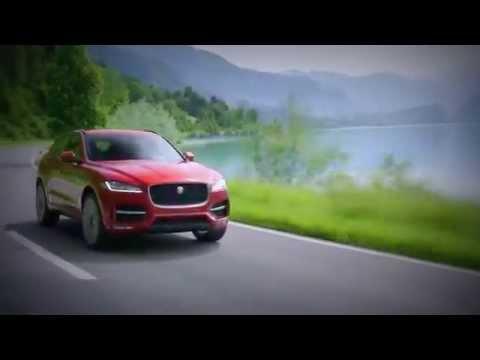 New 2016 Jaguar F-PACE - Camera Car