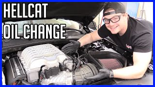 Change the Oil and Filter Dodge Challenger