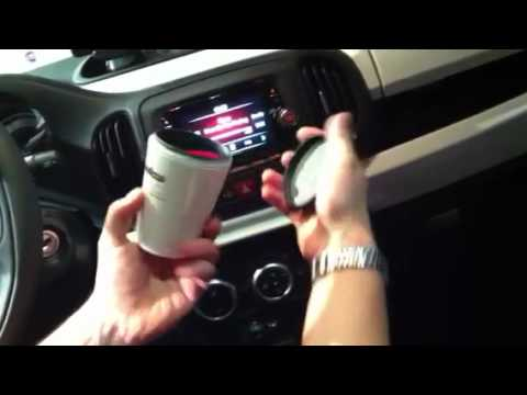 The Fiat 500L Comes With Its Own Espresso Maker Built-In