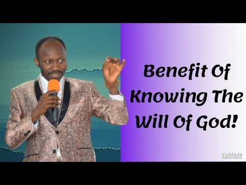 #Apostle Johnson Suleman(Prof) #Benefit Of Knowing The Will Of God