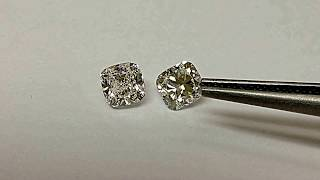 Compare Between Bad And Good Cushion Cut Diamond