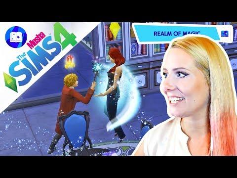 Z OBYČEJNÉHO SMRTELNÍKA KOUZELNÍKEM ● The Sims 4 - ŘÍŠE KOUZEL 04