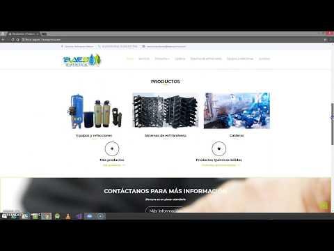 Portafolio de página web BaesQuimica