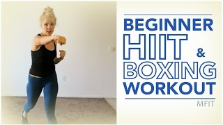 Beginner HIIT & Boxing Workout | MFit by MFit