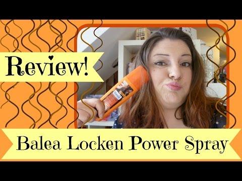 Balea Locken Power Spray [Review]