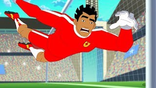 Supa Strikas | Big Bo, To Go | Soccer Cartoons for Kids | Sports Cartoon