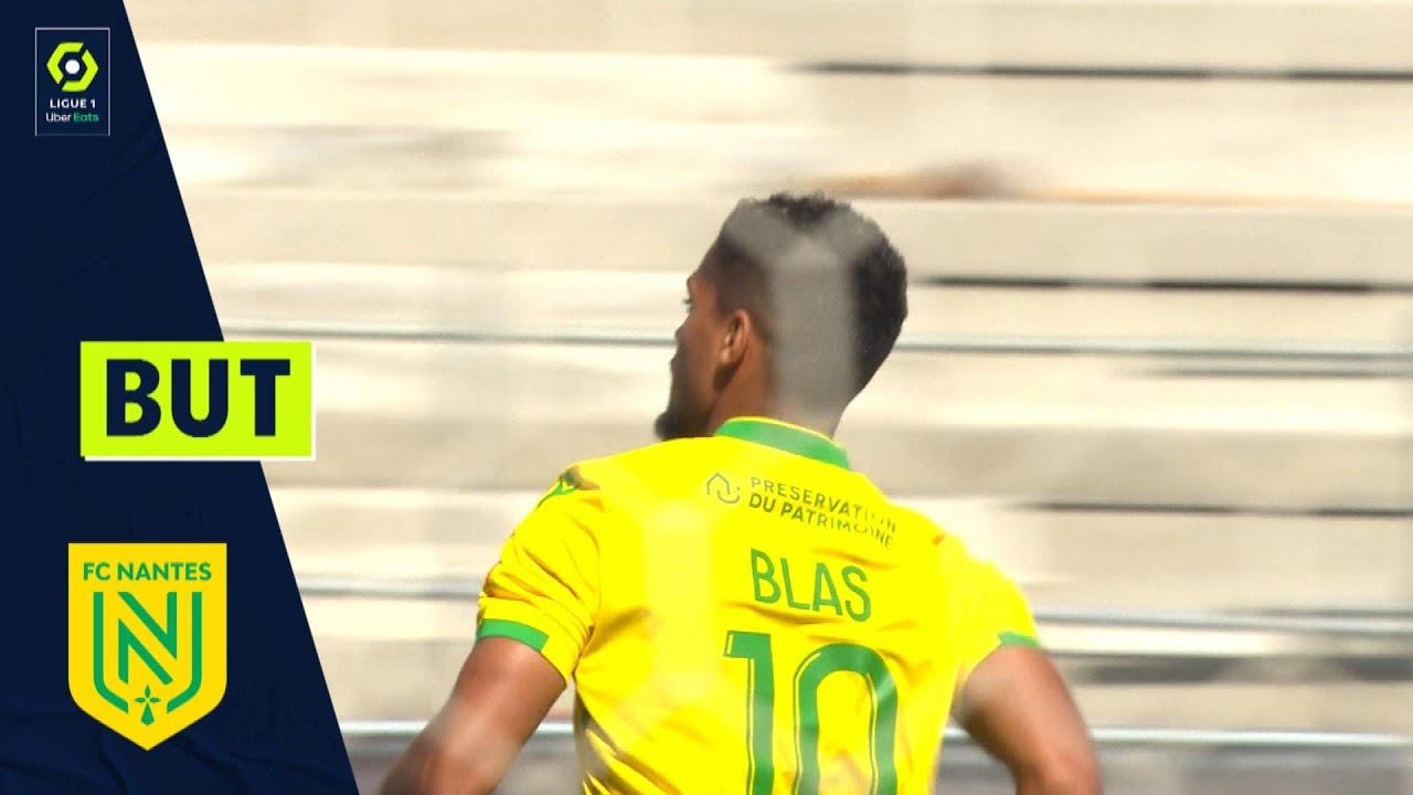 But Ludovic BLAS (6' pen - FCN) ANGERS SCO - FC NANTES (1-4) 21/22
