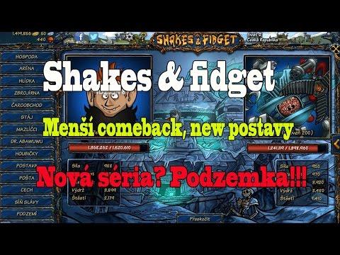 Shakes & fidget : Menší comeback, New postavy, Nová séria? Podzemka!!! PC verzia:D