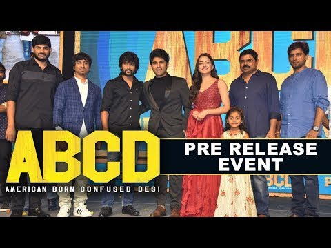 ABCD Movie Pre Release Event