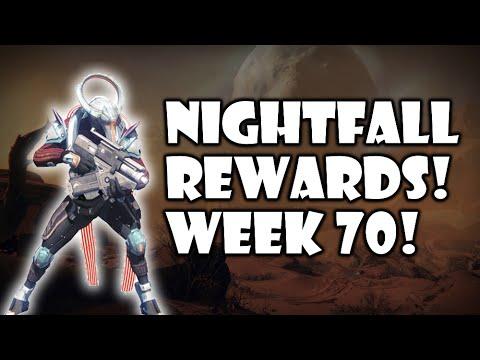 Destiny - Week 70 Nightfall Rewards! - Dust Palace