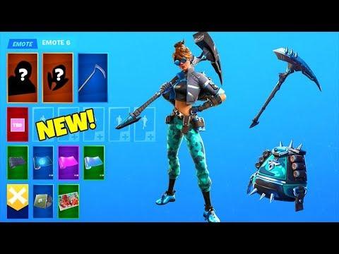 NEW! Fortnite Skin PACK LEAKED..! (BulletBlue) Fortnite Battle Royale