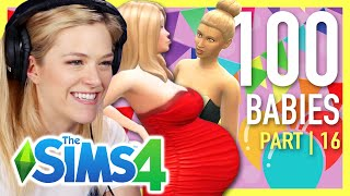 Single Girl Has A 20 Child Reunion In The Sims 4 | Part 16