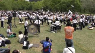 京都橘高等学校吹奏楽部 ブラスエキスポ2017 Sing Sing Sing