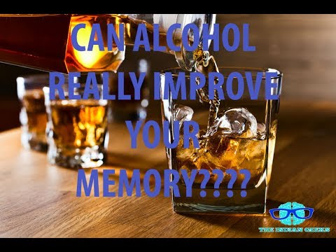 Drinking Alcohol🍷🍷🍷 After Studying May Improve Your Memory 🔥🔥😎😎😎😎