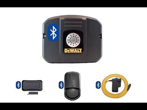 How to set up Bluetooth Sensors with DEWALT MOBILELOCK DS600