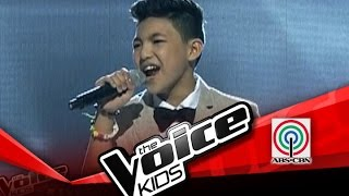 The Voice Kids Philippines Semi Finals 'One Moment In Time' by Darren