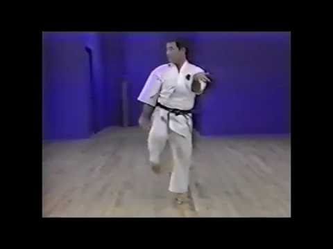 Goju ryu kata. Saifa