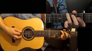 Tom Dooley - Doc Watson - Bluegrass guitar mini-lesson