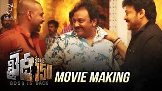 Khaidi No 150 Movie Making Video  Exclusive   Khaidi No 150  Chiranjeevi  V V Vinayak  DSP