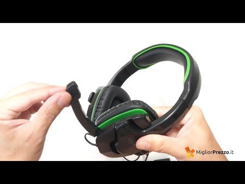 Cuffie da gaming AmazonBasics Video Recensione