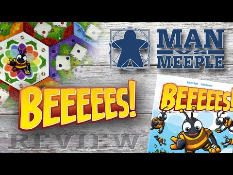 Beeeees! Review Review by Man Vs Meeple