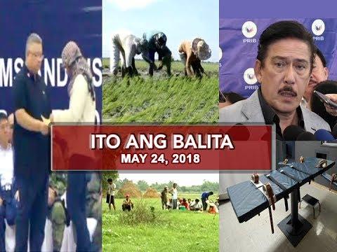 [UNTV] UNTV: Ito Ang Balita (May 24, 2018)