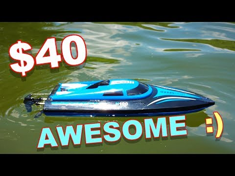 $40 RC Boat – SkyTech H100 – It's About Time We Get a New Boat – TheRcSaylors