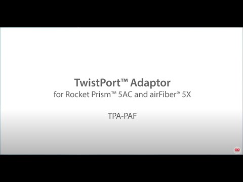 Unboxing TwistPort™ Adaptor for UBNT Rocket® Prism 5AC and airFiber® 5X