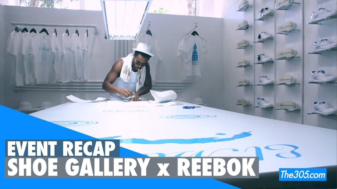 """Shoe Gallery x Reebok """"El Mariel"""" Sneaker Release Event"""
