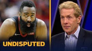 Skip Bayless believes James Harden was 'relieved' his 30-pt scoring streak ended | NBA | UNDISPUTED