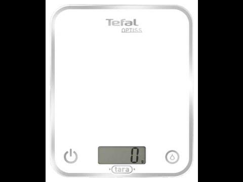 Кухонные весы Tefal BC5000 Optiss. Обзор.