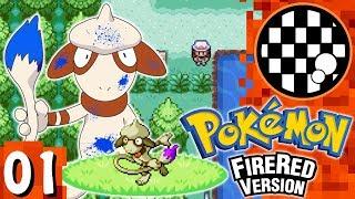 Smeargle  - (Pokémon) - 6 Smeargle Challenge: Pokemon FireRed | PART 1