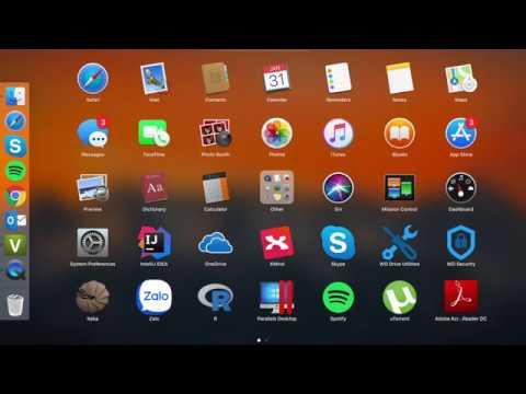 Cài phần mềm trên Macbook | MacOS
