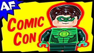 GREEN LANTERN Exclusive Minifigure Lego DC Comics Super Heroes Review