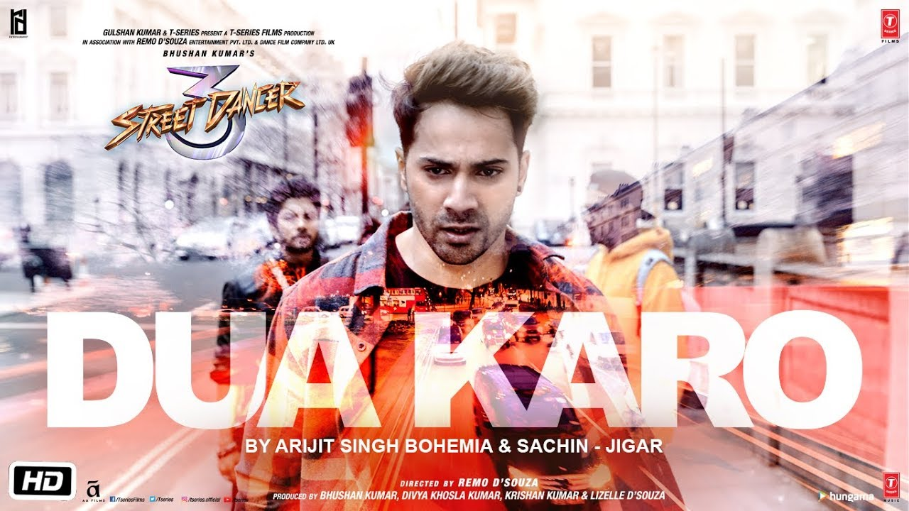 Dua Karo Song Lyrics from Street Dancer 3D
