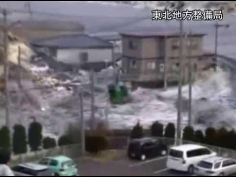 تسجيلات جديدة لتسونامي اليابان المدمر .. ماذا فعل بالمنازل ؟