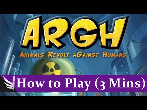 ARGH - How to Play