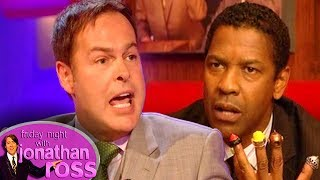 Dragon's Den Receive a Pitch from Denzel Washington | Friday Night With Jonathan Ross