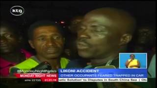 Man dies after a vehicle he was driving plunged into Indian Ocean at Likoni crossing channel
